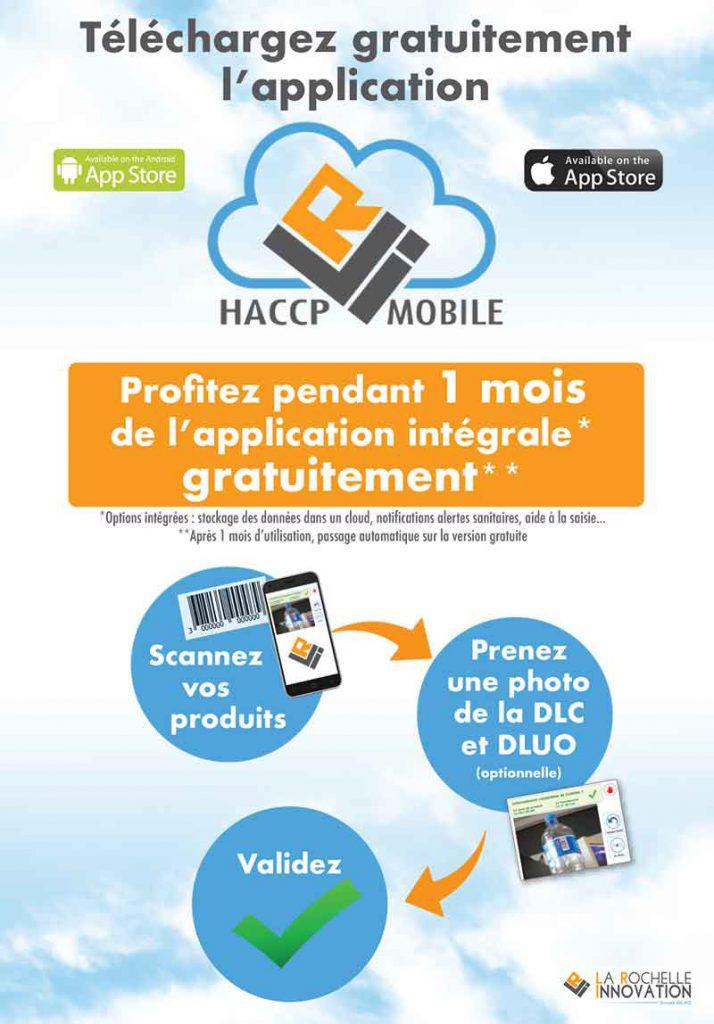 affiche promotion HACCP mobile