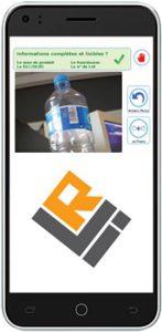 téléphone avec application LRI-HACCP