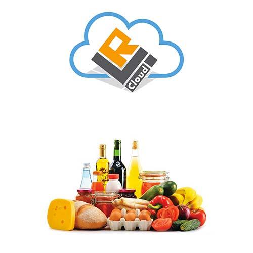 aliments sous un cloud