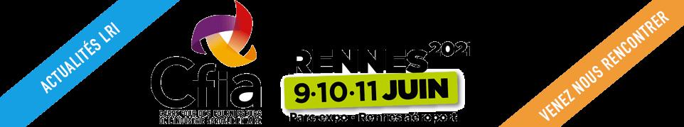 Logo CFIA Rennes avec La Rochelle Innovation