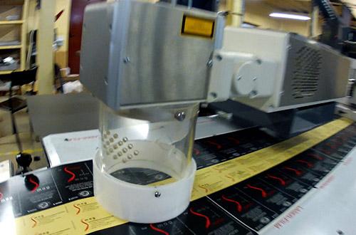 étiquetage par marquage laser