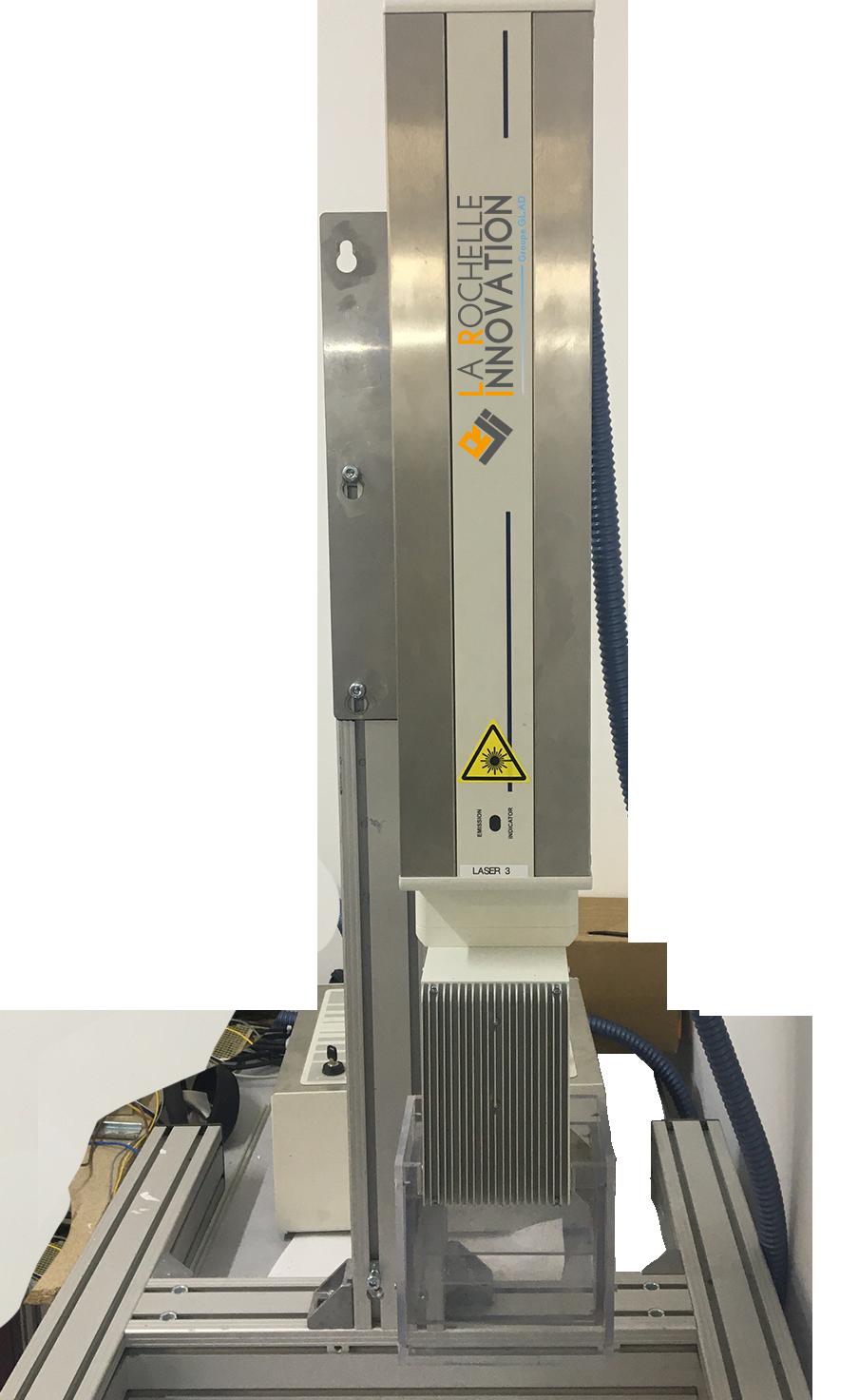 machine laser co2 10w pour marquage laser